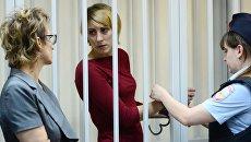 Ольга Алисова в Железнодорожном суде. Архивное фото