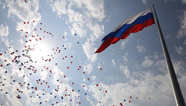 В КЧР 13 тысяч человек приняли участие в праздновании Дня российского флага