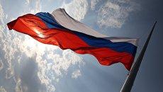 Празднование Дня Государственного флага РФ в Краснодаре. 22 августа 2017