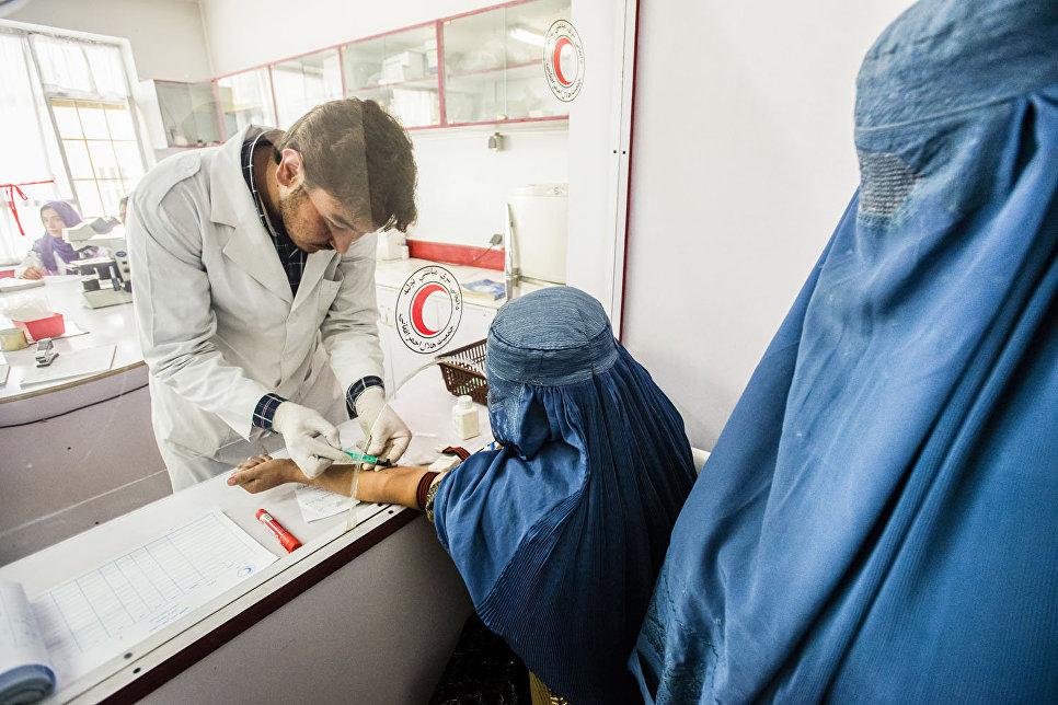 Больница Красного Полумесяца в Кабуле
