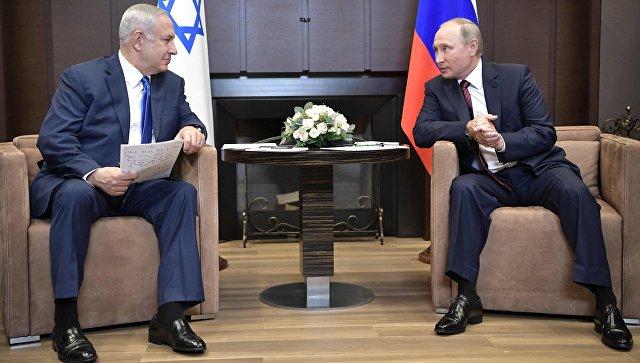 Встреча Путина и Нетаньяху