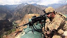 Военный в Афганистане. Архивное фото