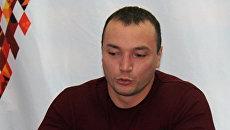Чемпион мира по пауэрлифтингу Андрей Драчевю Архивное фото