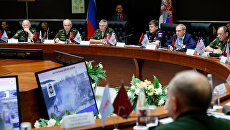 Круглый стол, посвященный опыту применения Вооруженных Сил Российской Федерации в Сирийской Арабской Республике, на форуме Армия-2017. 25 августа 2017