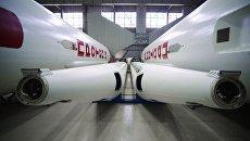 Ракеты-носители Протон-М в цехе Государственного космического научно-производственного центра имени М. В. Хруничева