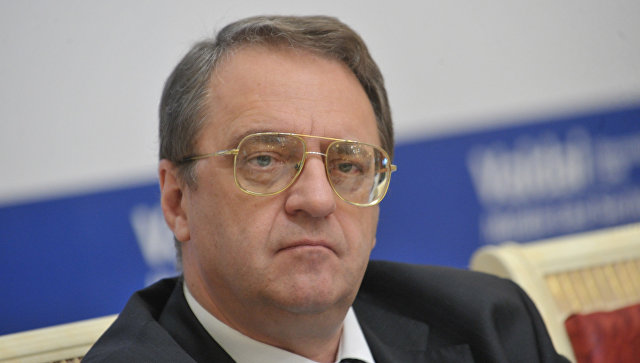 Замглавы МИД РФ Михаил Богданов. Архивное фото