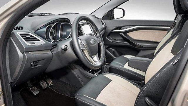 Салон автомобиля Lada Vesta Exclusive