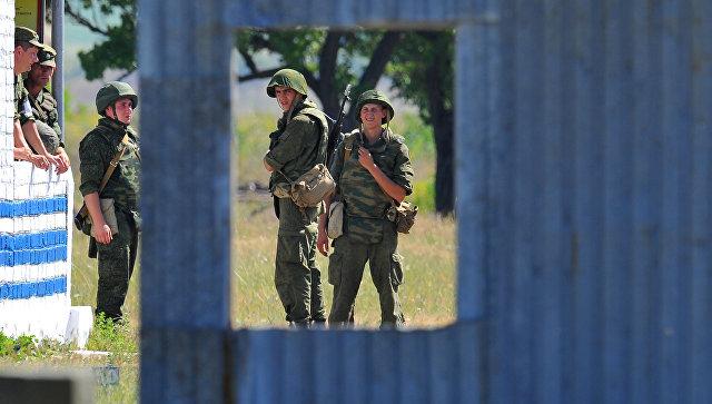 Оперативная группа российских войск в Приднестровье. Архивное фото