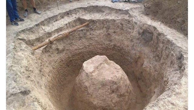 ВРостове откопали жертвенный холм старинного народа