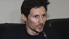 Сооснователь соцсети ВКонтакте, создатель защищенного мессенджера Telegram Павел Дуров. Архивное фото