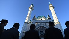 Празднование Курбан-Байрама в Казани. 1 сентября 2017