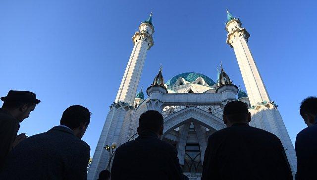 Празднование Курбан-Байрама в Казани. Архивное фото