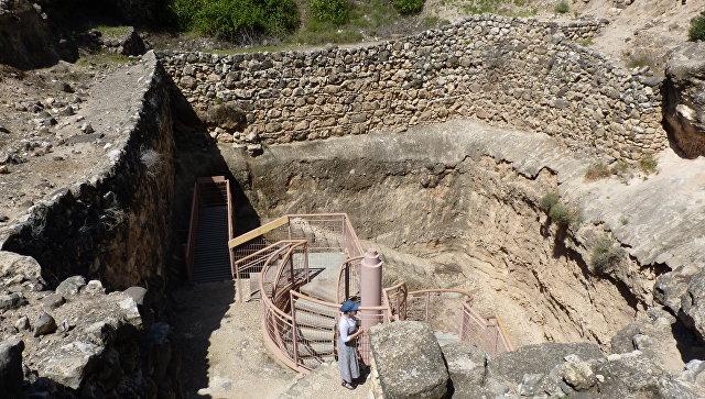 На месте древнего города Тель-Хацор в Израиле