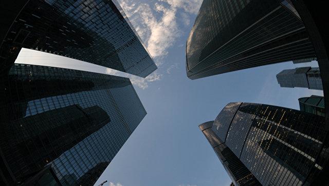 Международный деловой центр Москва-Сити. архивное фото