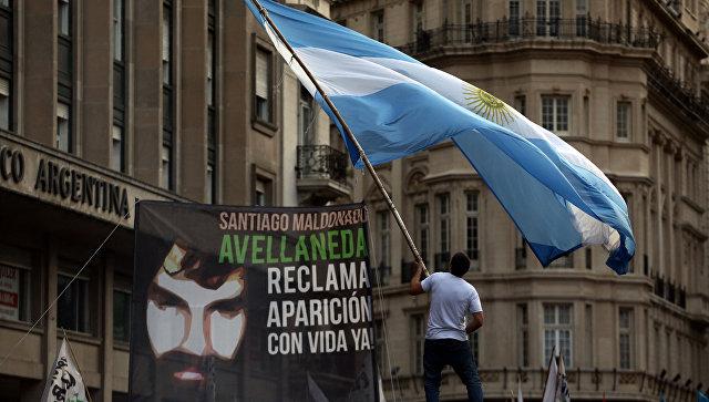 ВАргентине 17 человек пострадали впроцессе акции протеста