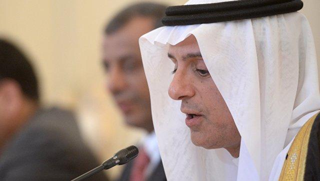 Глава МИД Саудовской Аравии А.Аль-Джубейр. Архивное фото