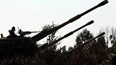 Лужский полигон в Ленинградской области. Архивное фото