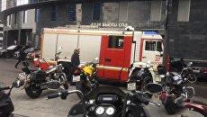 Эвакуация в деловом центре Москва-Сити