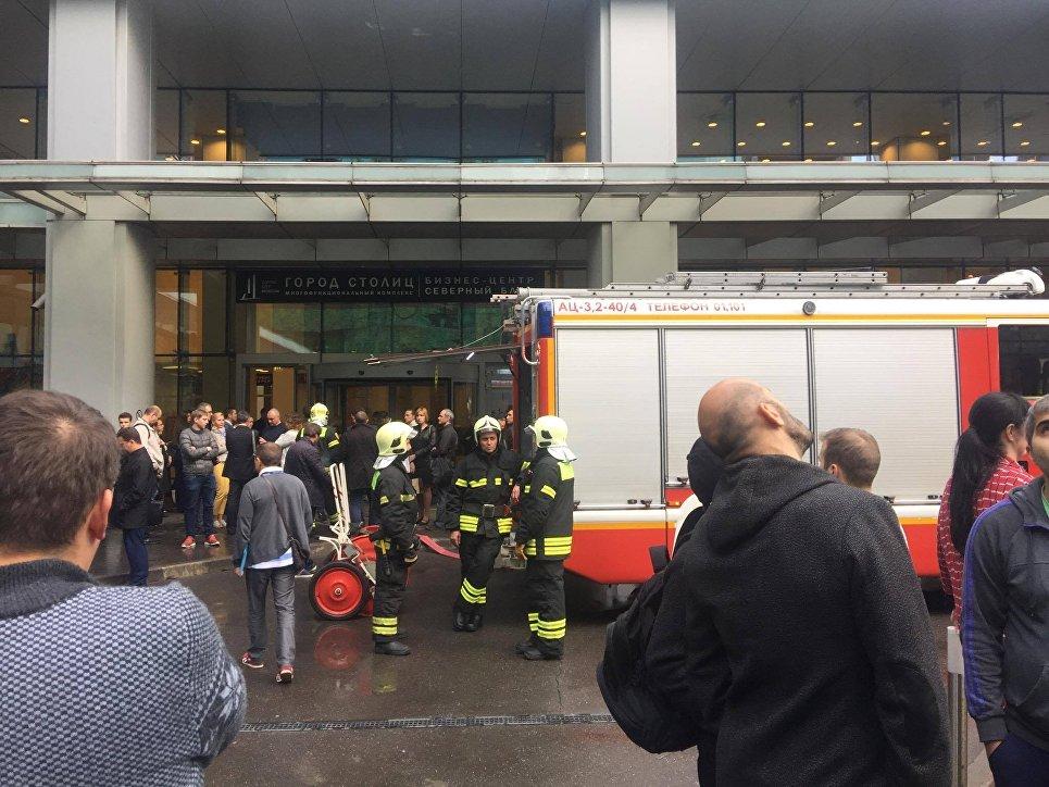 В «Москва-Сити» эвакуирован небоскреб: практически 300 человек покинули строение