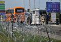У пункта пропуска Краковец на украинско-польской границе, где собирается пересечь границу бывший президента Грузии, экс-губернатор Одесской области Михаил Саакашвили