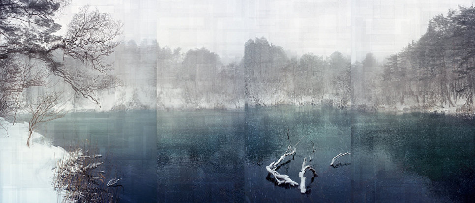 Работа фотографа из Японии Florian Ruiz The white Contamination в категории Пейзаж/природа, вошедшая в шорт-лист Felix Schoeller Photo Award 2017