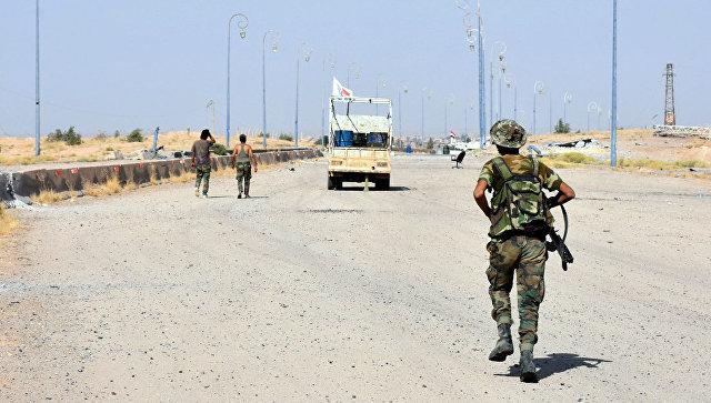 Сирийские военные в Дейр-эз-Зоре. Архивное фото