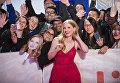 Американская актриса Джессика Частейн на премьере фильма Женщина идет впереди на Международном кинофестивале в Торонто