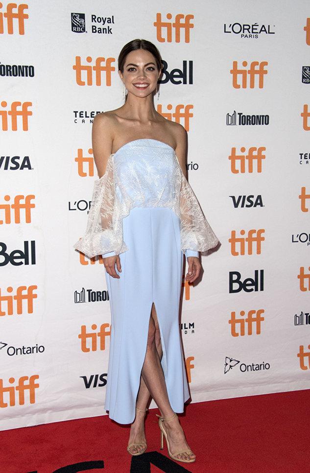 Американская актриса Кэйтлин Карвер на Международном кинофестивале в Торонто. 8 сентября 2017