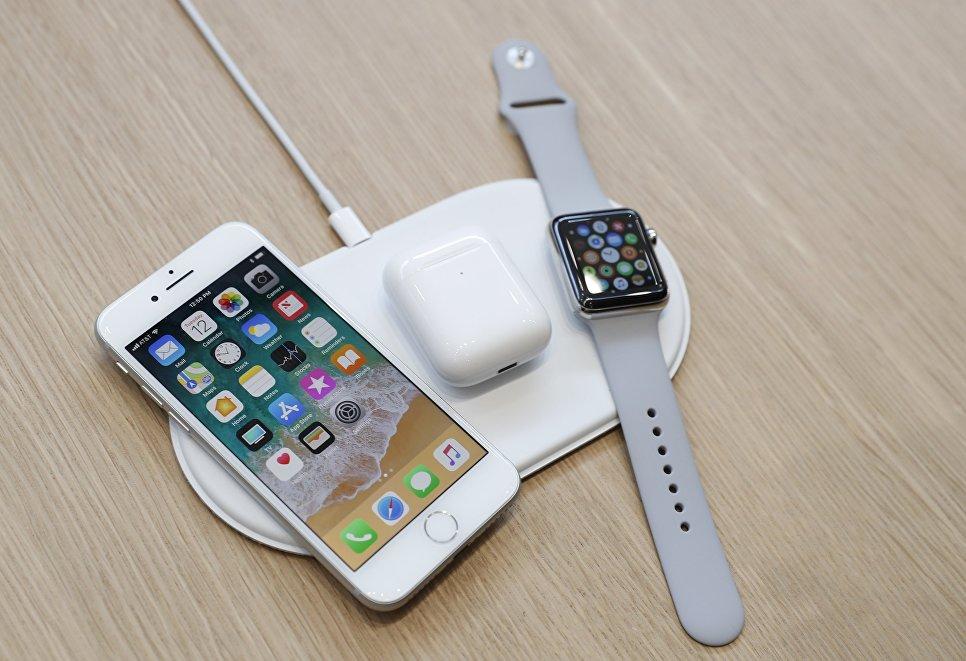 Зарядное устройство AirPower на презентации новых продуктов Apple