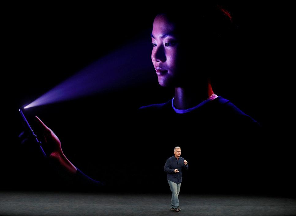 Старший вице-президент по международному маркетингу Apple Филипп Шиллер на презентации новых продуктов в штаб-квартире Apple в Купертино