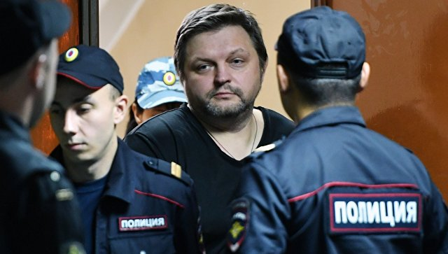 Экс-губернатор Кировской области Никита Белых в Пресненском суде Москвы. 13 сентября 2017
