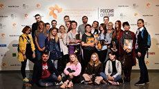Студенты-фотографы в московском Центре фотографии имени братьев Люмьер. 13 сентября 2017