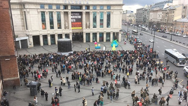 Эвакуация в Санкт-Петербурге. 14 сентября 2017