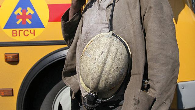 Спасатель отряда военизированной горно-спасательной части. Архивное фото