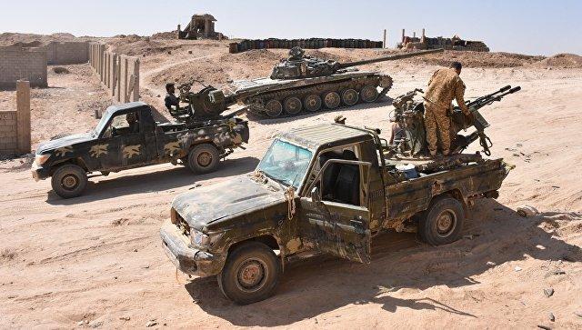 Сирийские военные в Дейр-эз-Зоре. 14 сентября 2017