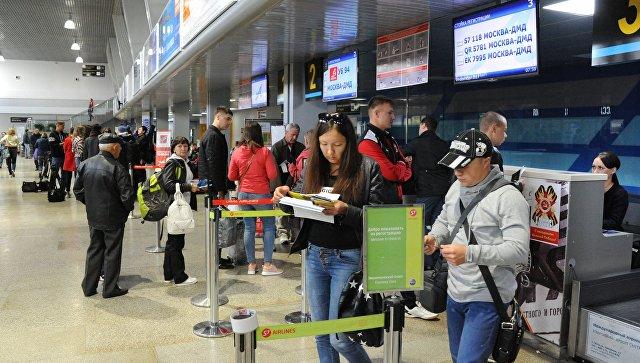 Пассажиры вернувшегося в Читу самолета вылетели к месту назначения