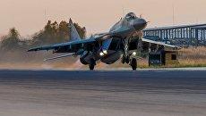 Вылет МиГ-29СМТ. Архивное фото