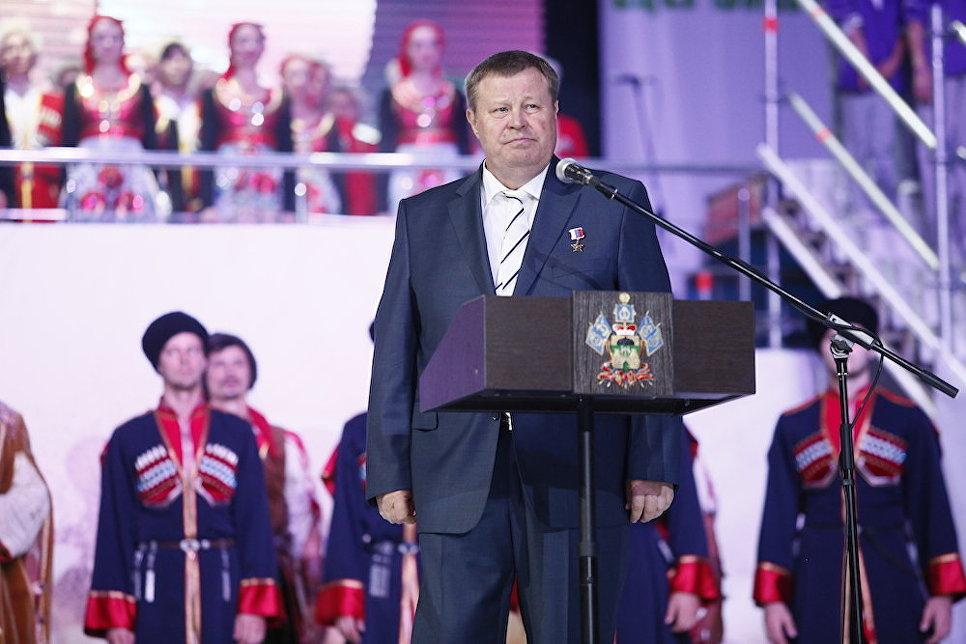 Полпред президента РФ в ЮФО Владимир Устинов