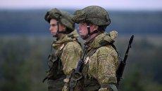 Российские военные на учениях. Архивное фото