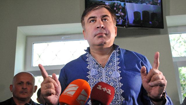 "Суд оштрафовал Саакашвили на 130 долларов за ""прорыв"" на Украину"