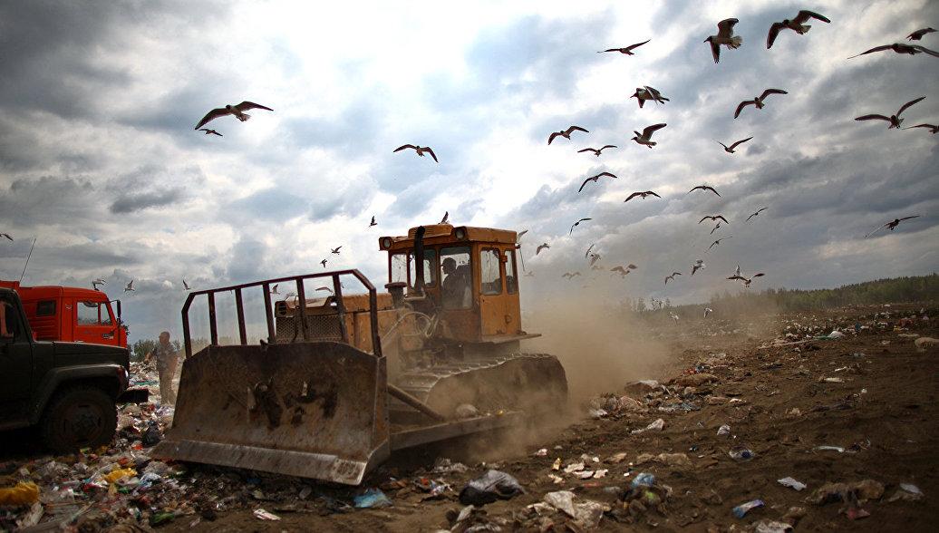 Рекультивация 3-х мусорных полигонов вПодмосковье идет пографику