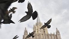 Здание Министерства иностранных дел РФ в Москве. Архивнео фото