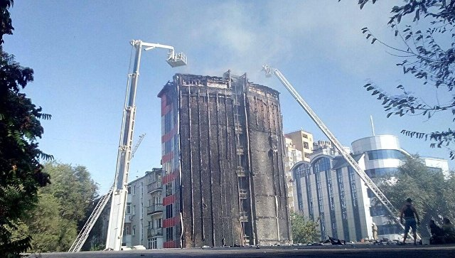 По факту гибели двух людей при пожаре в Ростове-на-Дону возбудили дело