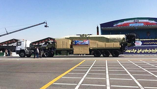 Баллистическая ракета, Иран. Архивное фото