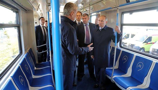 Рабочая поездка президента РФ В. Путина в Ульяновскую область