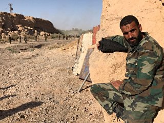 Военнослужащие сирийской арабской армии. Архивное фото