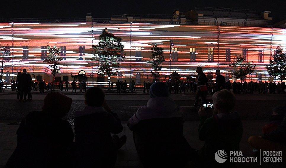 Шоу в рамках VII Московского международного фестиваля Круг света в Москве