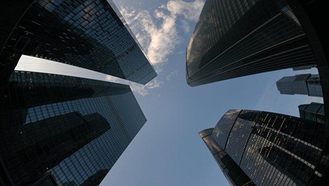 Международный деловой центр Москва-Сити.