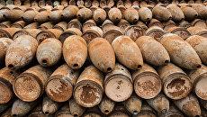 Боеприпасы с отравляющими веществами. Архивное фото