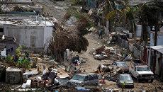 Последствия урагана Мария в Пуэрто-Рико. 26 сентября 2017